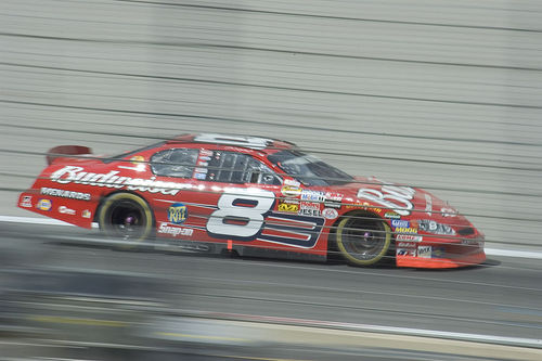 Dale Earnhardt Jr Hypermiles to Victory in NASCAR Racing