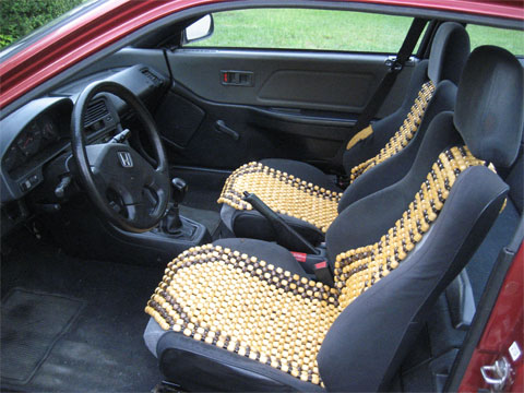Beaded Seat Covers Are Cheap Keep You Cool