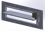 Automatically actuated grill block - Mk3